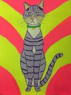 Vigorous Cat
