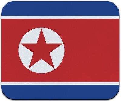 北朝鮮ナショナル旗マウスパッド