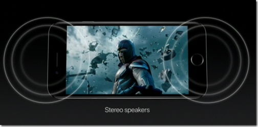 news iPhone 7 stereo speakers