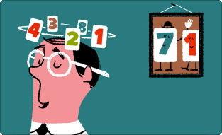 数字のゲームで頭の体操