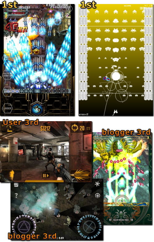 iPhone 2010年ゲーム大賞 結果発表 シューティング