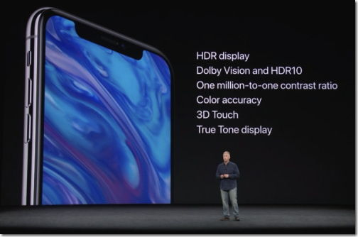 iPhoneXdisplay