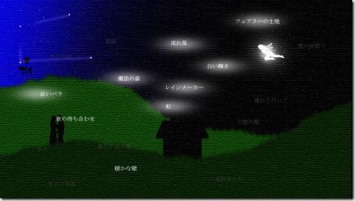 Blue Moon ブルームーン Star Sky