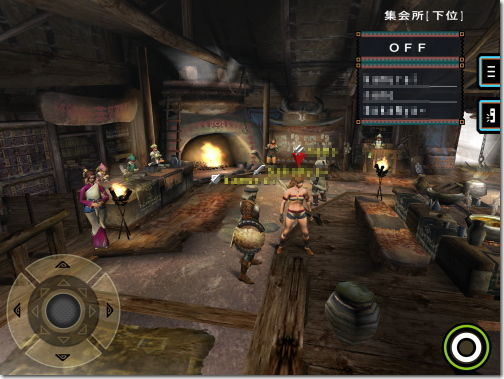 MONSTER HUNTER PORTABLE 2nd G for iOS モンスターハンター