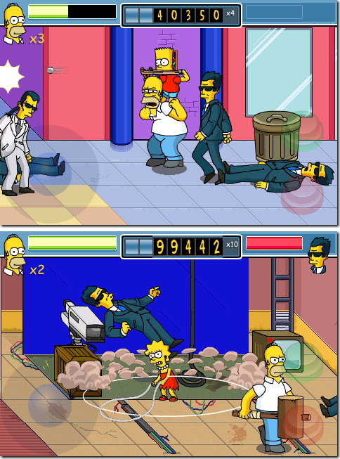 The Shimpsons Arcade