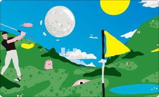 ゴルフで遊ぼう