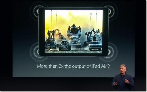 7インチ iPad Pro 4スピーカー