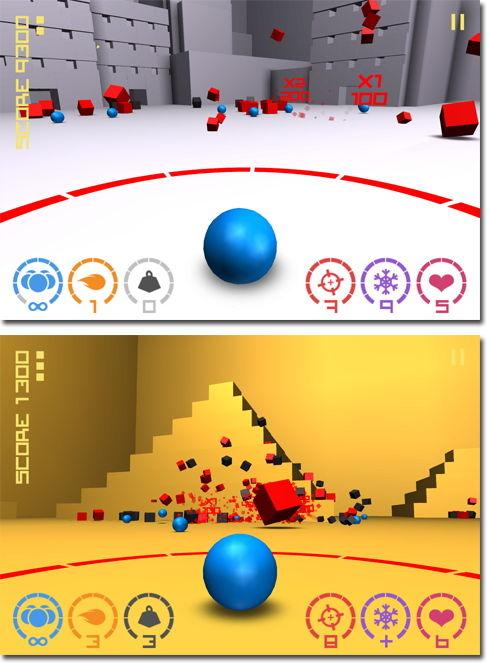 Cubes vs. Spheres