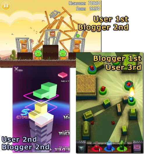 iPhone 2010年ゲーム大賞 パズル