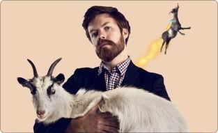 インターネットを席巻したヤギの話