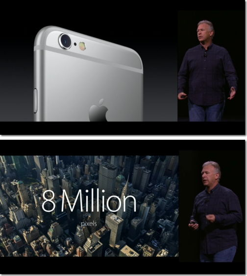 iPhone 6s カメラ