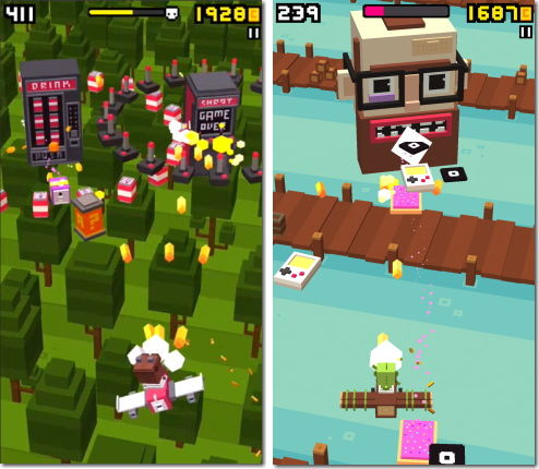 Shooty Skies Endless Arcade Flyer