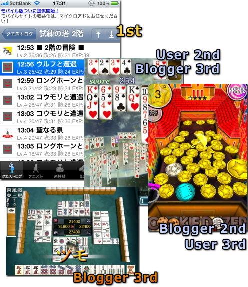 iPhone 2010年 ゲーム大賞 無料