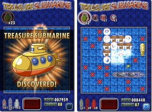 Treasure Submarine トレジャーサブマリン