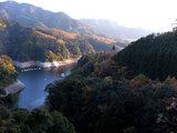 龍門ダムを見下ろす
