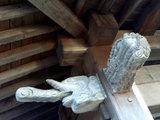 廣現寺の彫刻(3)