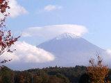道の駅『なるさわ』から見た富士山