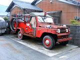 古い消防車