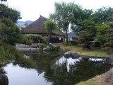 道の駅『朝日』日本庭園