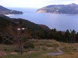 公園から見た田代島・網地島