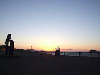 室蘭の夕陽(1)