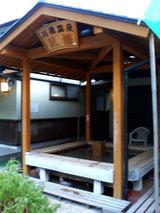 道の駅『川根温泉』の足湯