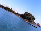 橋杭岩(島と鳥居)
