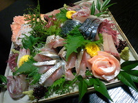 海王丸(お刺身の盛り合わせ)
