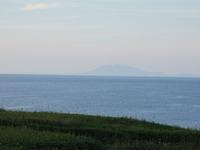北方原生花園から見た海