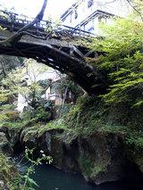 鶴仙渓 蟋蟀橋