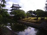 松前城(後ろからw)