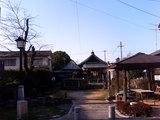 御所通りにある小さい神社