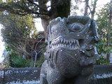 『北宮阿蘇神社』狛犬(左)