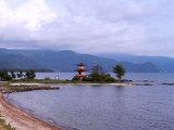 洞爺湖の『浮見堂』