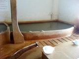 長湯温泉(ラムネ温泉の浴槽)
