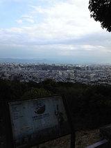 本妙寺公園(展望所からの眺め)