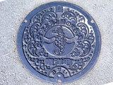 竜洋海洋公園(マンホール・タツノオトシゴ)