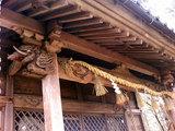劔神社の彫刻