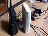 ADSL無線LANルータ