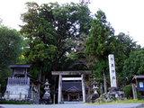 水屋神社(遠景)