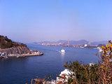 音戸大橋からの眺め