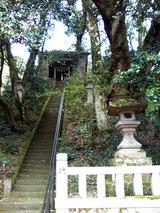 鶴仙渓 白山神社
