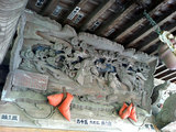 馬門稲荷神社 正面の彫刻