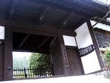 宿場町の門