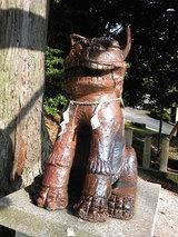 狛犬(あ)