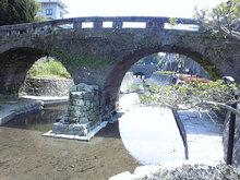 高瀬裏川花しょうぶ(眼鏡橋)
