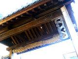 廣現寺の彫刻(1)