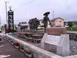 道の駅『のだ』の銅像