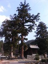 神山温泉の神社(1)