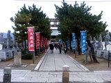 大石神社参道